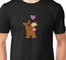 Papa Grizzley  Blonde Girl Unisex T-Shirt