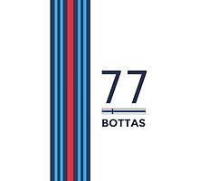 F1 2014/15 - #77 Bottas [simple version] by loxley108