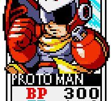 Proto Man by Lupianwolf