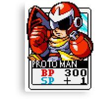 Proto Man Canvas Print
