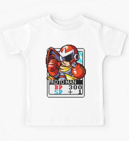 Proto Man - Mega Man Kids Tee