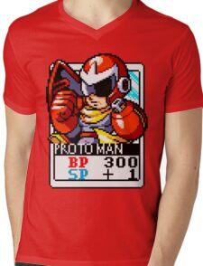 Proto Man Mens V-Neck T-Shirt
