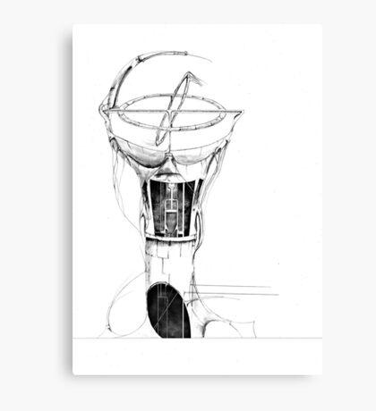 Gyroscope drawing Canvas Print