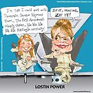Lostin Power by Londons Times Cartoons by Rick  London