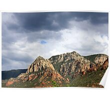 Storms Over Sedona #3 Poster