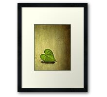 Lonely Heart Framed Print