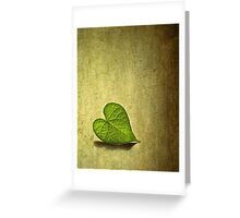 Lonely Heart Greeting Card