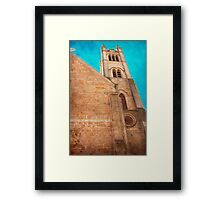 Once Upon A Time In York Framed Print