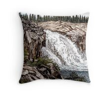 Glen Aulen Throw Pillow