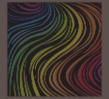 zebra rainbow color One Piece - Short Sleeve
