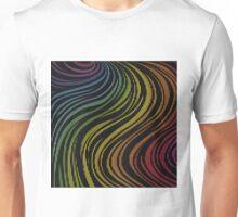 zebra rainbow color Unisex T-Shirt