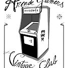 Arcade gamers - Vintage club by dadawan