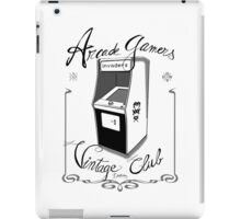 Arcade gamers - Vintage club iPad Case/Skin