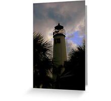 St. George Island Lighthouse Greeting Card