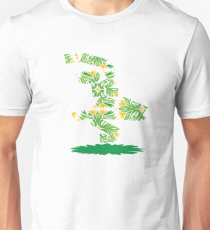 Sitting Flower Unisex T-Shirt