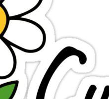 Cunty flower Sticker