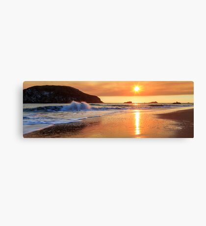 Sunset In Brookings Canvas Print