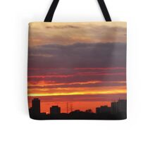 West Side Story  Rumble Sunset Tote Bag