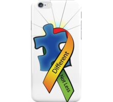 Autism Ribbon with Puzzle Peace iPhone Case/Skin
