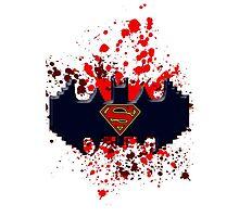 Batman V.S. Superman by Grimsgraphics