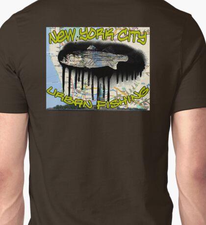 NYC urban fishing Unisex T-Shirt