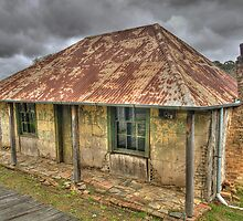 Beyers Cottage - Hill End , NSW Australia - The HDR Experience by Philip Johnson