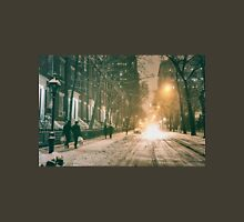 Winter - Washington Square - New York City Unisex T-Shirt