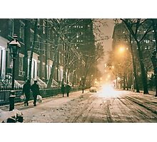 Winter - Washington Square - New York City Photographic Print