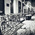 Winter Night - East Village - New York City by Vivienne Gucwa