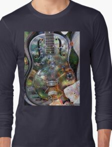 The Magical Dobro Long Sleeve T-Shirt