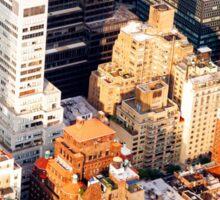 Above New York City Sticker