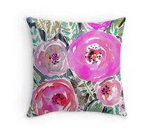 Gardens of Berkeley Floral Throw Pillow