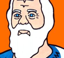Socrates Pop Folk Art Sticker