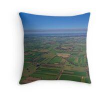Invergordon Farmlands Throw Pillow