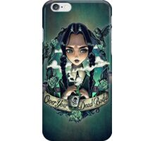 OVER YOUR DEAD BODY iPhone Case/Skin