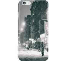 Winter on the Lower East Side - New York City iPhone Case/Skin