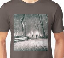Snow - Madison Square Park - New York City Unisex T-Shirt