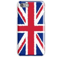 Smartphone Case - Flag of the United Kingdom - Painted  iPhone Case/Skin