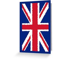 Smartphone Case - Flag of the United Kingdom - Painted  Greeting Card
