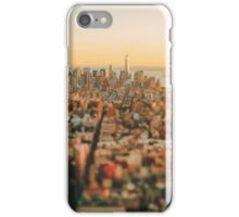 New York City - Skyline at Sunset iPhone Case/Skin