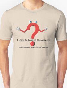 Question Mark Humor Unisex T-Shirt
