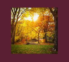 Autumn - Central Park - Sunset - New York City Unisex T-Shirt