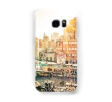 Graffiti Rooftops at Sunset - Chinatown - New York City Samsung Galaxy Case/Skin