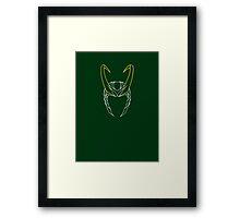 Loki the Trickster  Framed Print