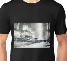 Times Square - Snow - New York City Unisex T-Shirt