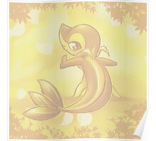 Snivy Poster