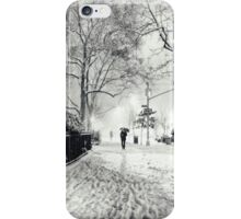 Winter Night - Madison Square Park - New York City iPhone Case/Skin