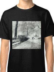 Winter Night - Madison Square Park - New York City Classic T-Shirt