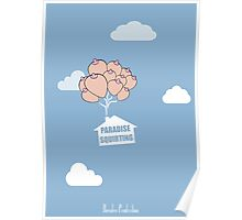 Paradise Squirting Poster