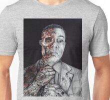 Breaking Bad Gus Fring as Gangster Unisex T-Shirt